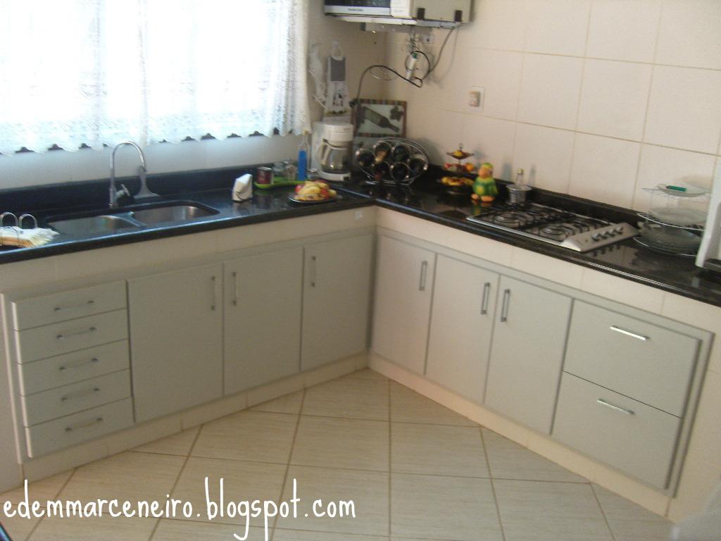 Armário de Cozinha Embutido Edem Marceneiro #3C4E60 1024x768