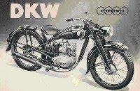 7. DKW motorcycles