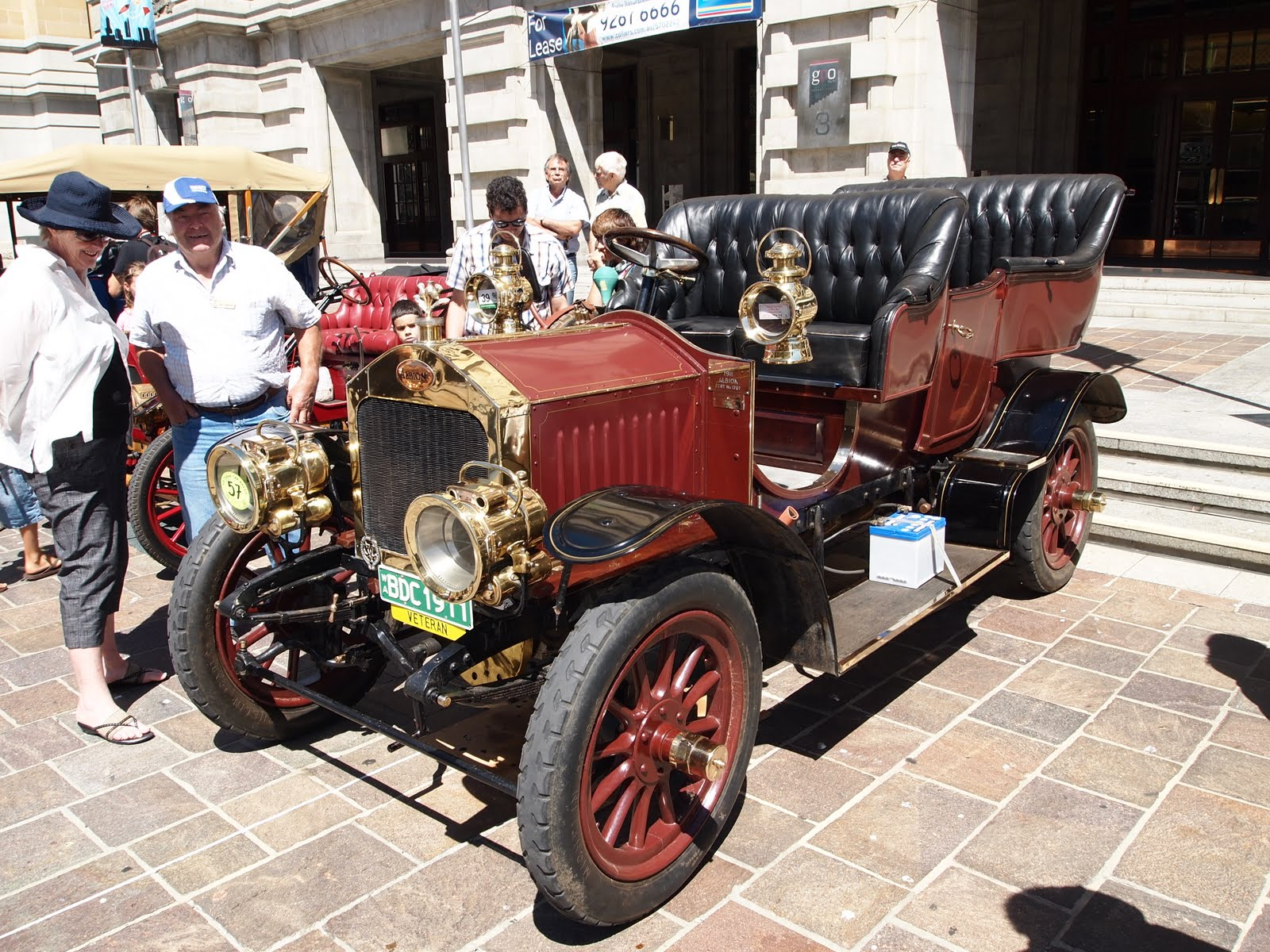 Auto-Union Project: Perth Veteran Car Rally 2011