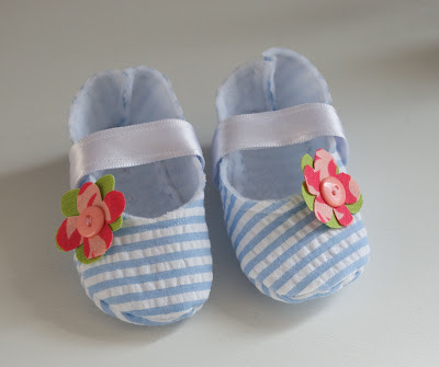 Free Printable Baby Shoes Pattern