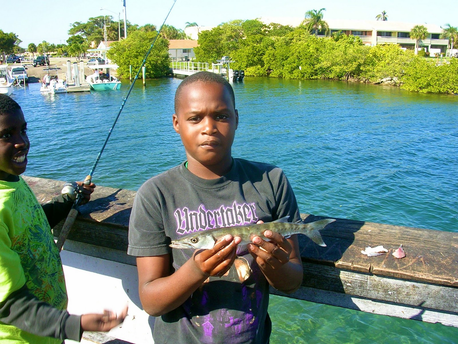 Florida fishing academy boynton holiday boat parade and for Boynton beach fishing