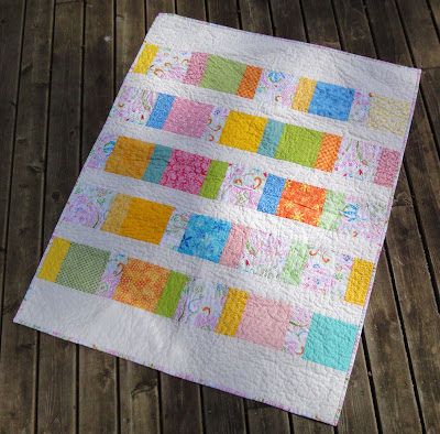 Happy Charms quilt front