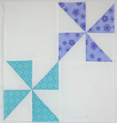 Pinwheel Party block 8