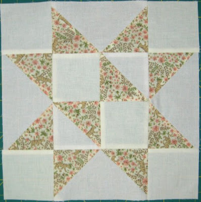star quilt-a-long block 1