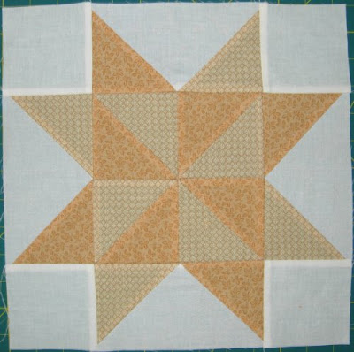 Star Quilt Along Week 4 block