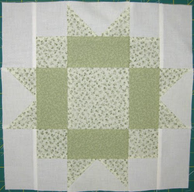 Star Quilt Along, block 8