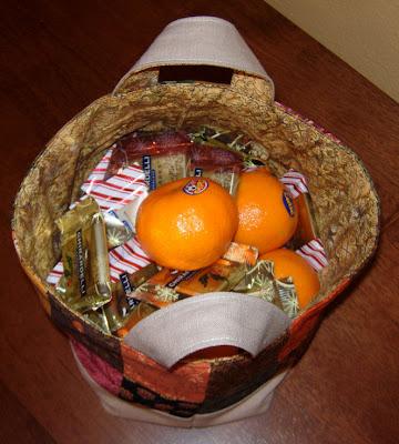 super tasty treats inside the basket