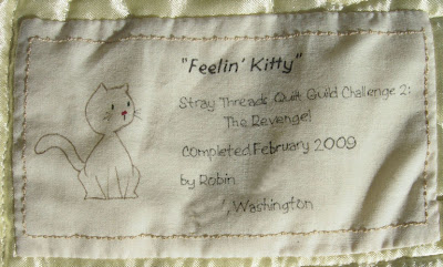 Feelin' Kitty label