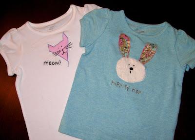 appliqued t-shirts