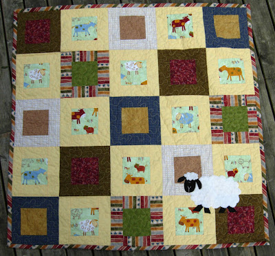 Little Sheep Quilt front