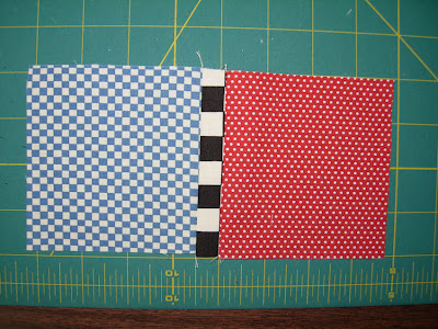stitched squares