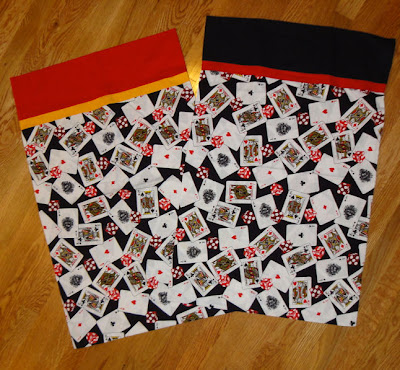 card pillowcases