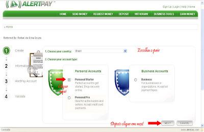 como abrir uma conta no alertpay,alertpay gratis,alertpay no brasil