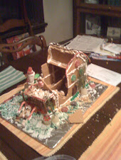 Gingerbread ruins