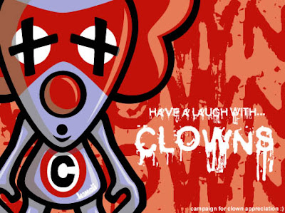 Campaign poster for clowns!
