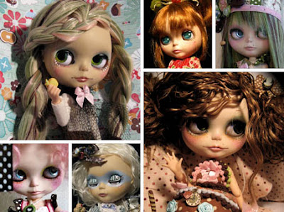 Custom Blythe Dolls by Rudy Fig
