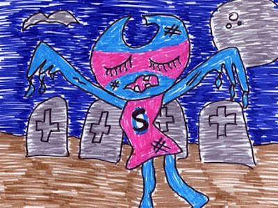 Zombie Sweet Mascot!