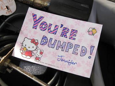 She dumped me!