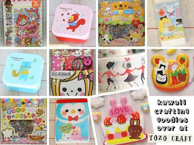 Kawaii crafting goodies at Yozo Craft
