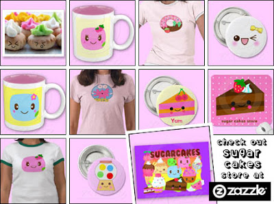 Sugar Cakes at Zazzle