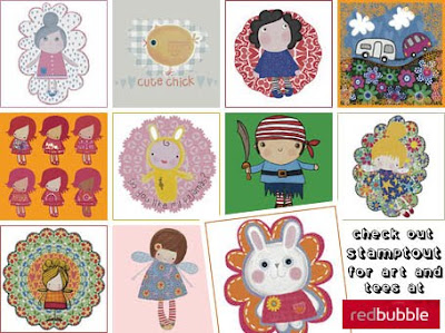 Stamptout at RedBubble