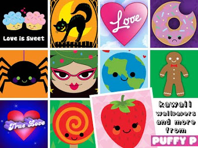 Kawaii wallpapers from PUFFY P