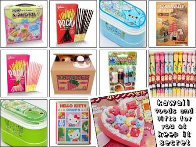 Cute kawaii gifts at Keep it Secret