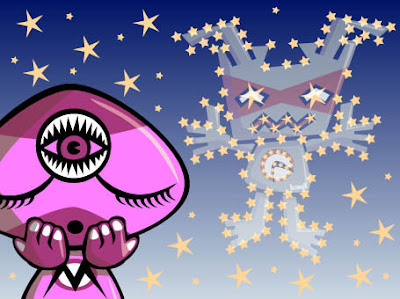 Did you work out which mascot had appeared in the night sky?