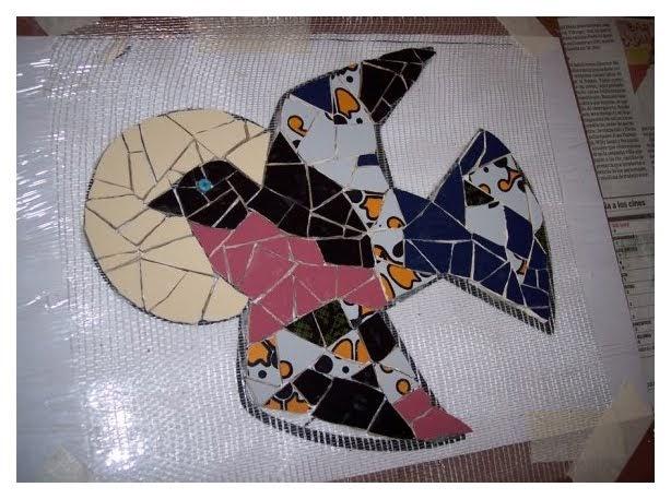 Mosaiquismo t cnica sobre malla for Dibujos para mosaiquismo