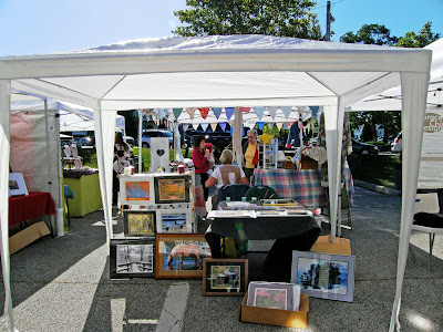 Country corner the charlie brown craft show tent of for How to set up a booth at a craft show