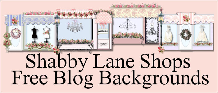 Shabby Lane Shops Free Blog Backgrounds