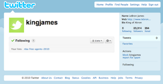 LeBron James Twitter Account, LeBron James New Twitter, LeBron James Twitter