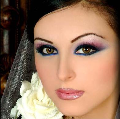 heavy arabic makeup. Latest Arabic Makeup Styles