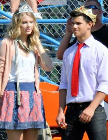 taylor lautner and taylor swift. song to Taylor Lautner.