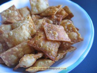 Shankarpale, zatpat shankarpale, shankarpari, namkeen, timepass food, snacks, crunchy chips, homemade chips