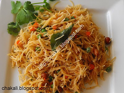 Indian breakfast, vermicelli upma, shevayancha upma, sevai upma, healthy breakfast, tea time snack