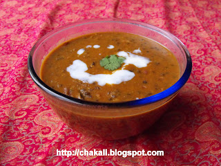 Dal Makhni, Bukhara dal, Punjabi recipe, North Indian food, Desi Khana
