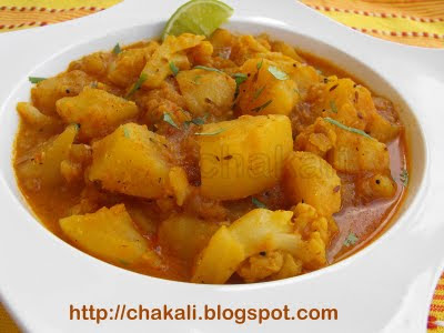 potato rassa, potato curry, Spicy curry, Maharashtrian potato curry, vegetarian curry