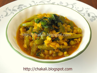 tondli dalimbya, tondali bhaji, tondalyachi bhaji, Indian vegetable, Indian curry recipe