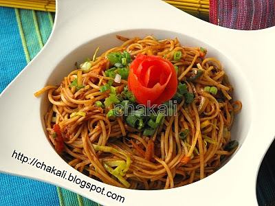 hakka noodles, chinese noodles recipe, Indo chinese recipe