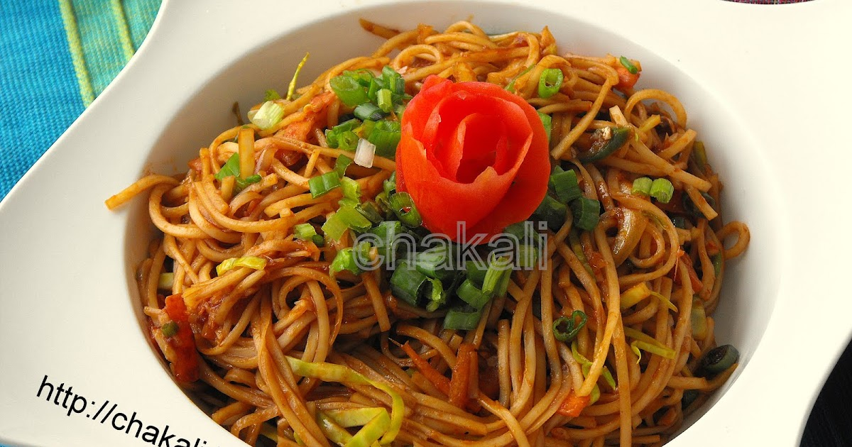 how to make hakka noodles recipe in marathi