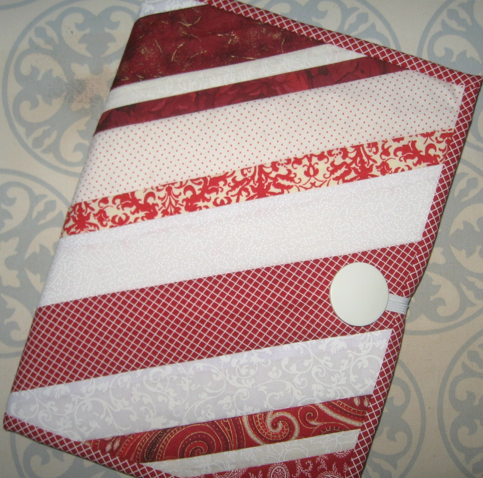 Quilted Book Cover Tutorial : Not so plain jane quilted notebook cover tutorial