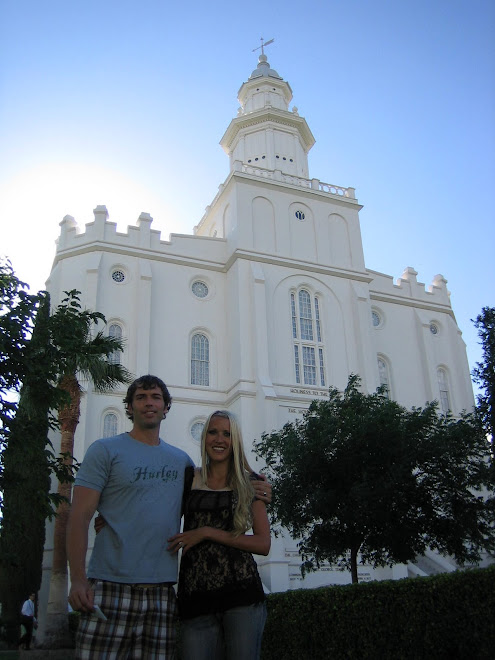 It was fun to be at the St George temple it brough back good memories from when we lived there