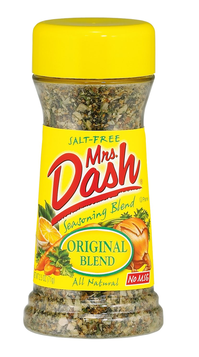 Mrs dash flavorful low sodium family meals series for Substitute for fish food