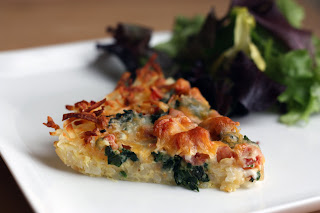 Breakfast for Dinner  Rosti  Quiche!