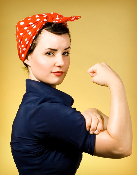 The Symbol Of Working Women During War Rosie Look Is