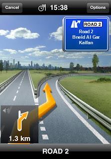 IPA App NAVIGON MobileNavigator Middle  East Version 1.6.0
