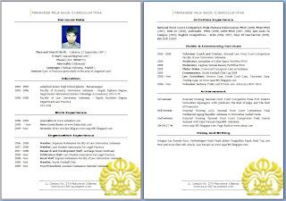 Raja Saor Blog Contoh Surat Curriculum Vitae Di Bidang Hukum