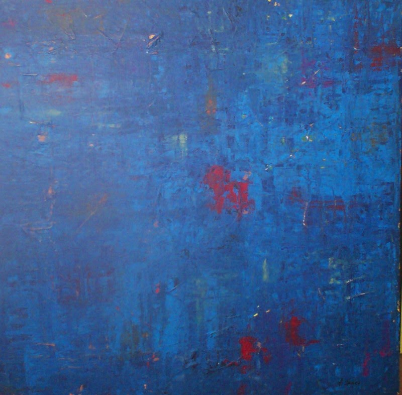 art rent and lease: blue: cool & calm color for artwork, gender