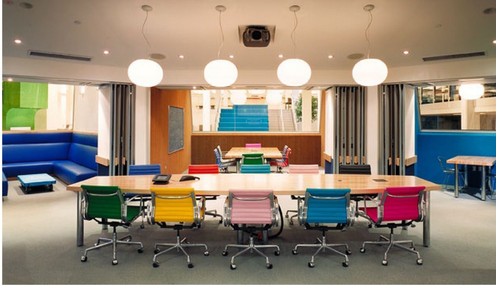Art Rent and Lease: A Candy-Colored Conference Room